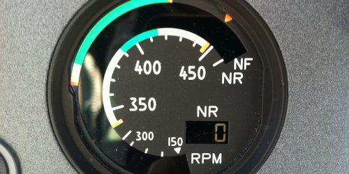 RPM Gauge EC120