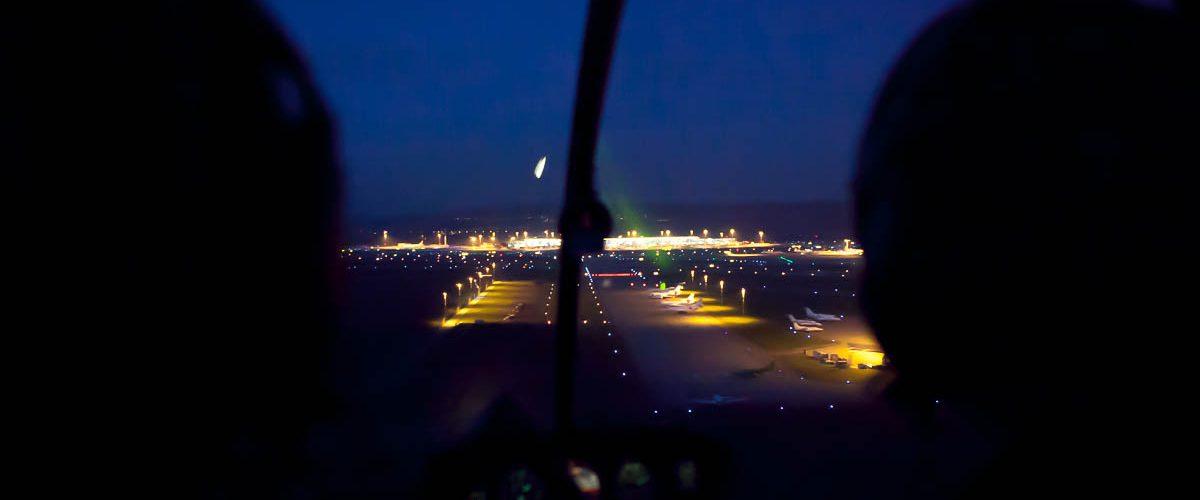 Robinson R44 Night Flight 2