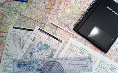 Flight planning and preparation...